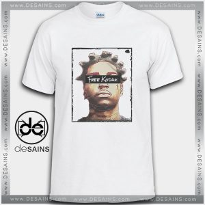 Cheap Graphic Tee Shirts Free Kodak Black American rapper