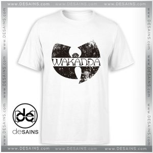Cheap Graphic Tee Shirts Wakanda Wu Tang Clan Black Panther