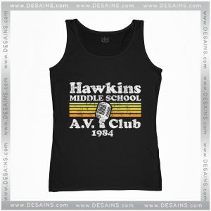 Cheap Tank Top Hawkins Middle School A.V. Club Stranger Things