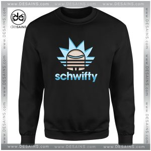 Buy Sweatshirt Rick Morty Schwifty Adidas Logo