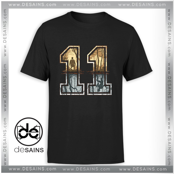 e77d4e8e926c Buy Tshirt 11 Logo Stranger Things Movie – Cheap Graphic Tee Shirts