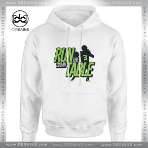 Cheap Graphic Hoodie Run the Damn Table Hoodie Unisex Size S-3XL