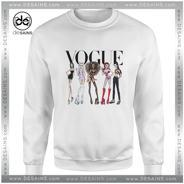 adb1858cc Cheap Graphic Sweatshirt Vogue Spice Girls Sweater On Sale