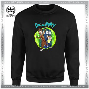 Cheap Sweatshirt Rick Morty and Doc