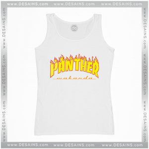 Cheap Tank Top Thrasher Panther Wakanda