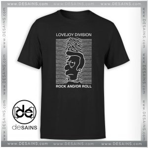 Cheap Tshirt Love Joy Division Simpsons