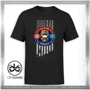 Cheap Tshirt Police Fire Fighter Ems