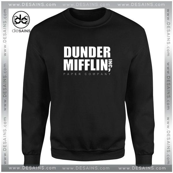 Cheap Graphic Sweatshirt Dunder Mifflin Paper Company Merch