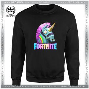 Cheap Graphic Sweatshirt Fortnite Battle Royale Unicorn