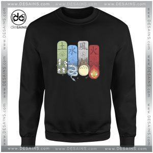 Cheap Graphic Sweatshirt Ghibli Studio Elemental Charms