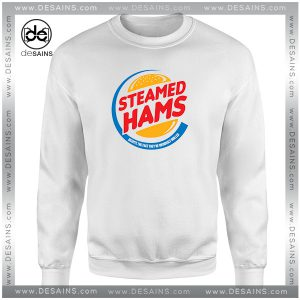 Cheap Graphic Sweatshirt Steamed Hams The Simpsons