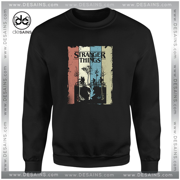 762a7404bc24e Cheap Graphic Sweatshirt Stranger Things Poster Merchandise