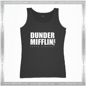 Cheap Graphic Tank Top Dunder Mifflin Paper Company Size S-3XL