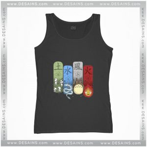 Cheap Graphic Tank Top Ghibli Studio Elemental Charms