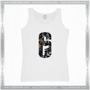 Cheap Graphic Tank Top Rainbow Six Siege New Operators