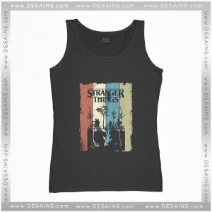 Cheap Graphic Tank Top Stranger Things Poster Apparel