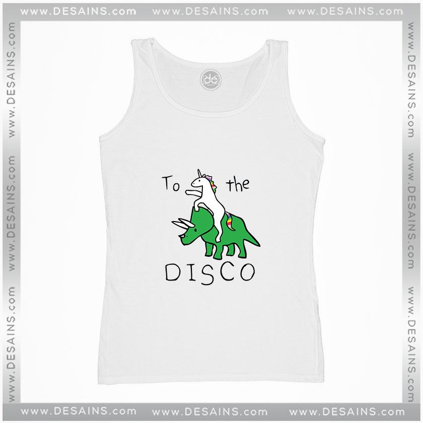 Unicorns Ride Dinosaurs To The Disco Women/'s Vest