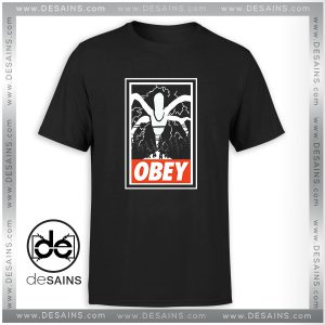 Cheap Graphic Tshirt Stranger Things Obey The Mind Flayer