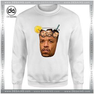 Cheap Sweatshirt Ice Tea and Ice Cube
