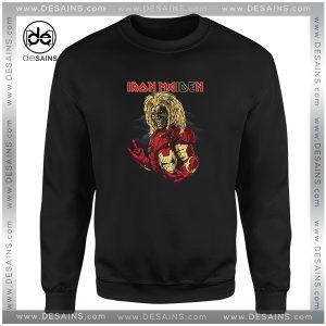 Cheap Sweatshirt Iron Maiden Iron Man
