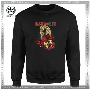 Cheap Sweatshirt Iron Maiden Iron Man