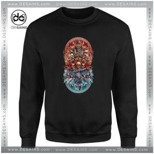 Cheap Sweatshirt Sub Zero vs Scorpion Mortal Kombat Fire and Ice