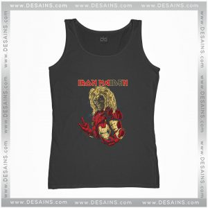 Cheap Tank Top Iron Maiden Metal Iron Man