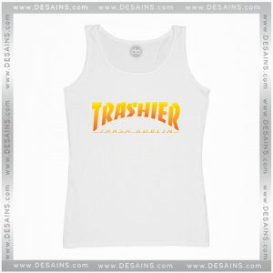 Cheap Tank Top Thrasher Skateboarding Trash Goblin