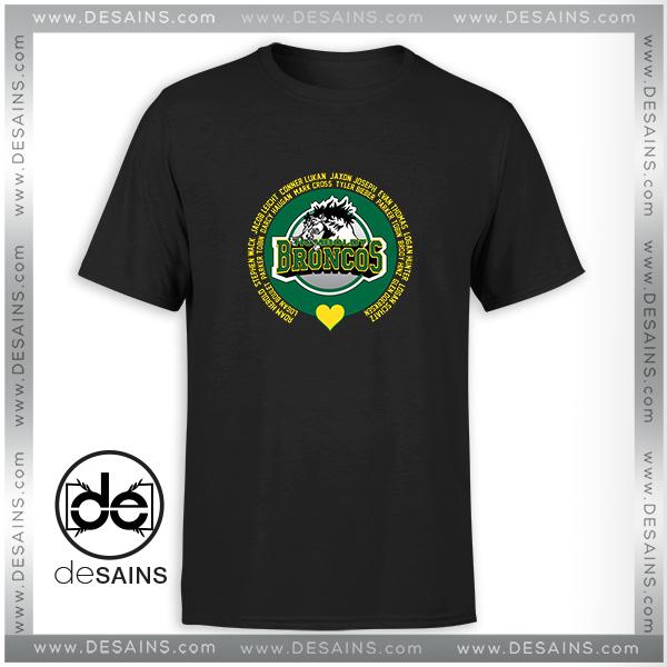 Cheap Tshirt Humboldt Broncos in Loving Memory Tee Shirt On Sale a7cf219e030e