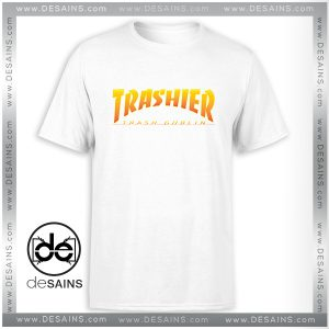 Cheap Tshirt Thrasher Skateboarding Trash Goblin