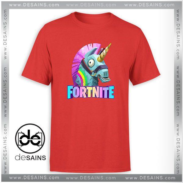 9edcce38b T-Shirt Fortnite Battle Royale Unicorn Tee Shirt Size S-3XL
