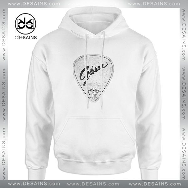 Cheap Graphic Hoodie Legendary Guitar Pick Mashup Gibson