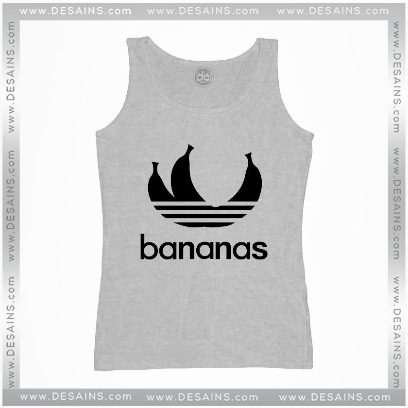 29e09e5776776 Cheap Graphic Tank Top Bananas parody logo Adidas Size S-3XL