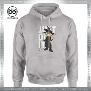 Cheap Graphic Hoodie Goku Just Do it Dragon Ball