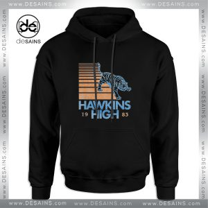 Cheap Graphic Hoodie Hawkins High Stranger Things