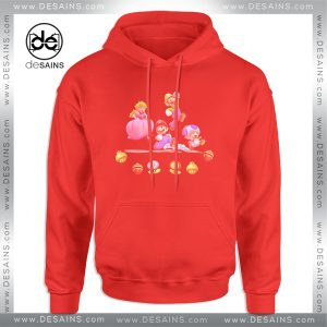 Cheap Graphic Hoodie Mario And Friends Characters