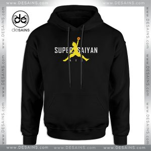 Cheap Graphic Hoodie Nike Air Super Saiyan Paordy Dragon Ball