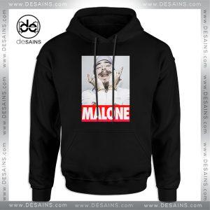 Cheap Graphic Hoodie Post Malone American rapper