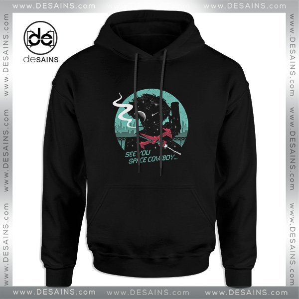 finest selection e5be8 a51b1 Cheap Graphic Hoodie Space Cowboy Negative Space Silhouette