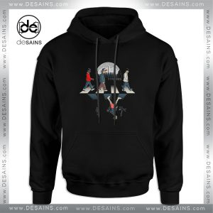 Cheap Graphic Hoodie Stranger Things Upside Down Abbey Road