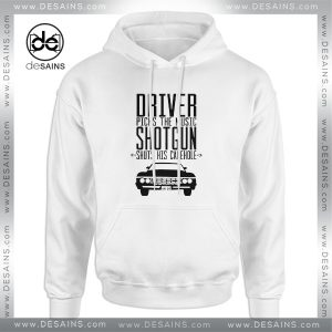 Cheap Graphic Hoodie Supernatural Driver Picks The Music Shotgun Shuts