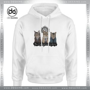 Cheap Graphic Hoodie Supurrnatural Cat Supernatural TV Series