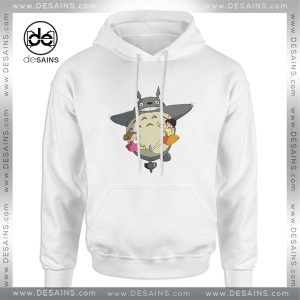Cheap Graphic Hoodie Totoro Studio Ghibli Anime Funny