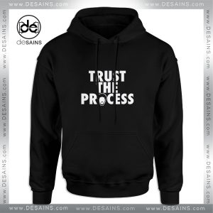 Cheap Graphic Hoodie Trust The Process Philadelphia 76ers