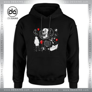 Cheap Graphic Hoodie Welcome to Derry Pennywise