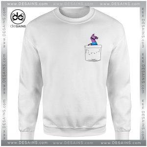 Cheap Graphic Sweatshirt Fortnite Battle Royale Pocket Lama