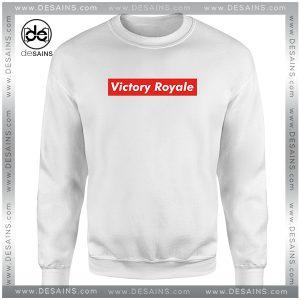Cheap Graphic Sweatshirt Fortnite Battle Royale Victory Royale Supreme