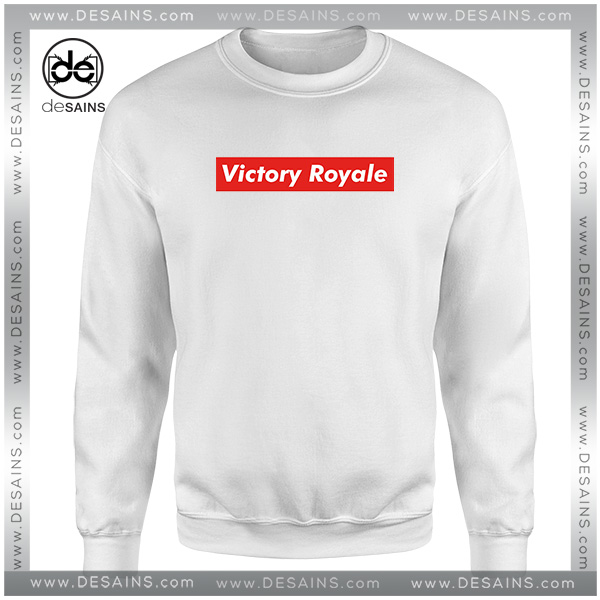 Cheap Graphic Sweatshirt Fortnite Battle Royale Victory Supreme Jpg