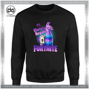 Cheap Graphic Sweatshirt Fortnite Game Victory Royale Size S-3XL