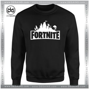 Cheap Graphic Sweatshirt Fortnite Survival Game Logo